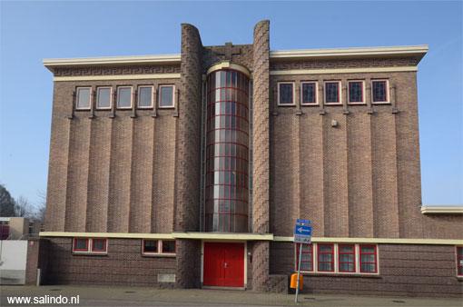 Tilburg architectuur van de de amsterdamse school bouwstijl in tilburg noord brabant - Expressionistische architectuur ...